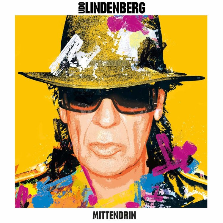 Foto: Udo Lindenberg | Single-Cover Mittendrinr Mittendrin